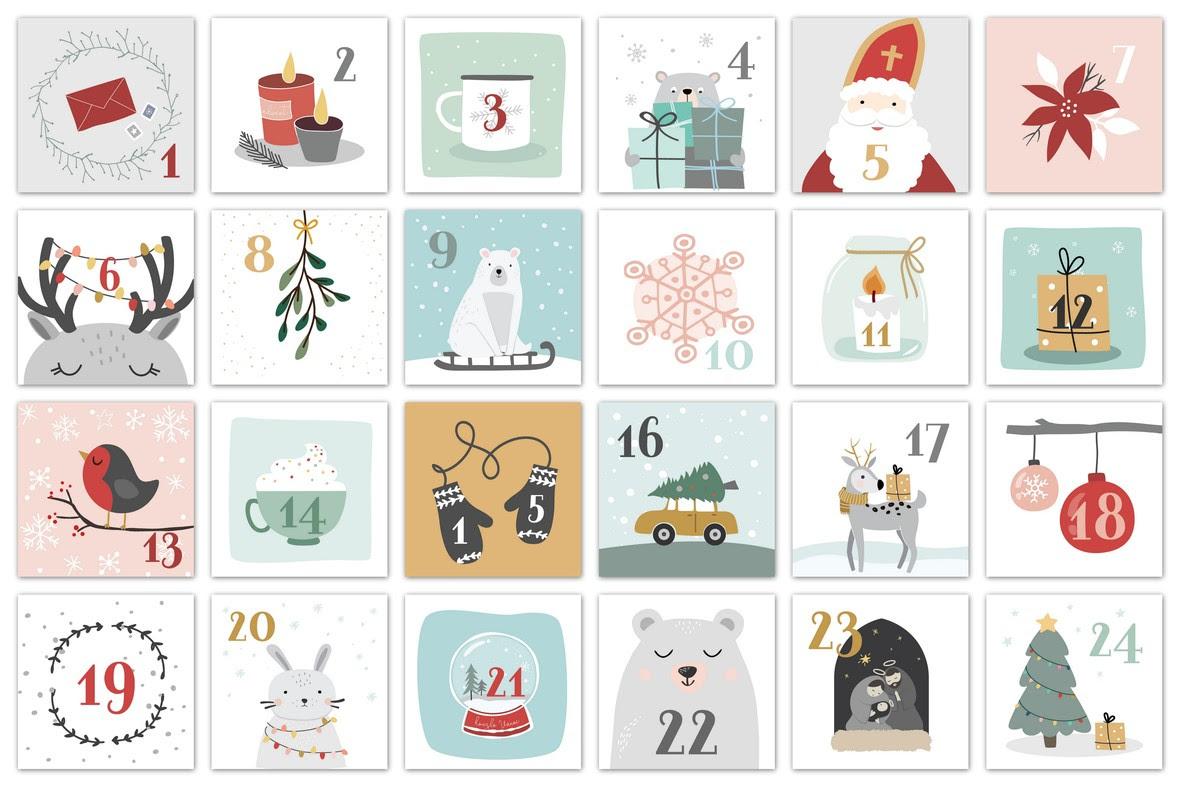 vanoce adventni kalendar