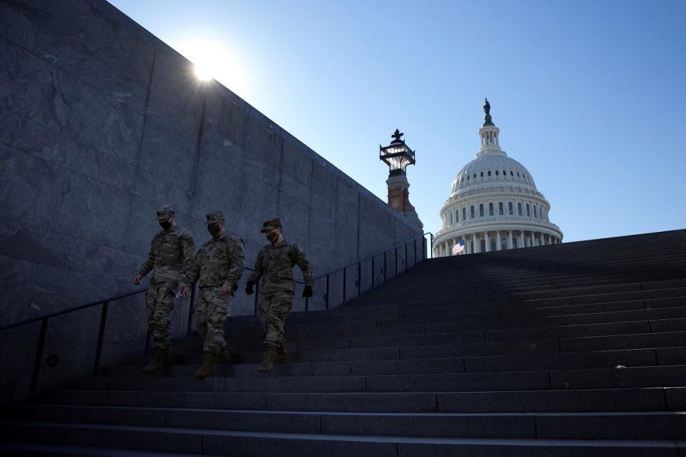 Vista general del Capitolio en Washington.