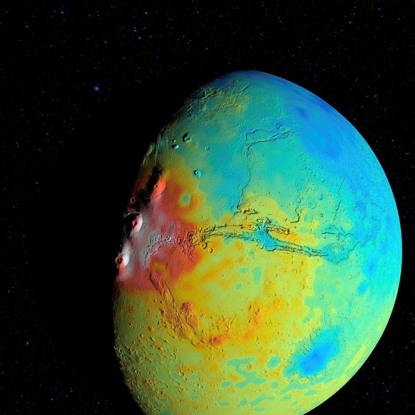 NASA Finds Mars' Crust Is