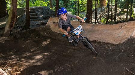 Redmond Bike Park roller