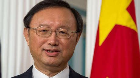 Director de la Oficina de la Comisión Central de Asuntos Exteriores de China, Yang Jiechi