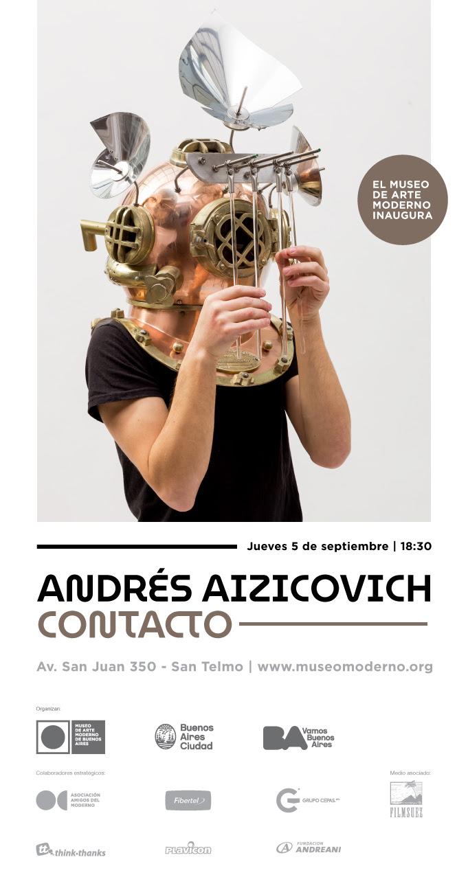 Andrés Aizicovich. Contacto