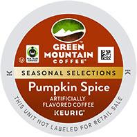 Green Mountain Pumpkin Spice Keurig®  K-Cup®  pods