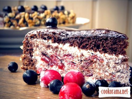 Торт - П'яна вишня