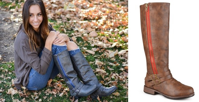 Knee-High Riding Boot | Wide & Extra Wide Calf