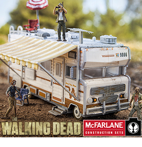 WALKING DEAD CONSTRUCTION SETS