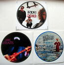 X 3 CLASSIC ROCK STICKERS DIRE STR…