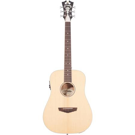Premier Niagara Mini Dreadnought Body Acoustic-Electric Guitar with Onboard Preamp and Tun