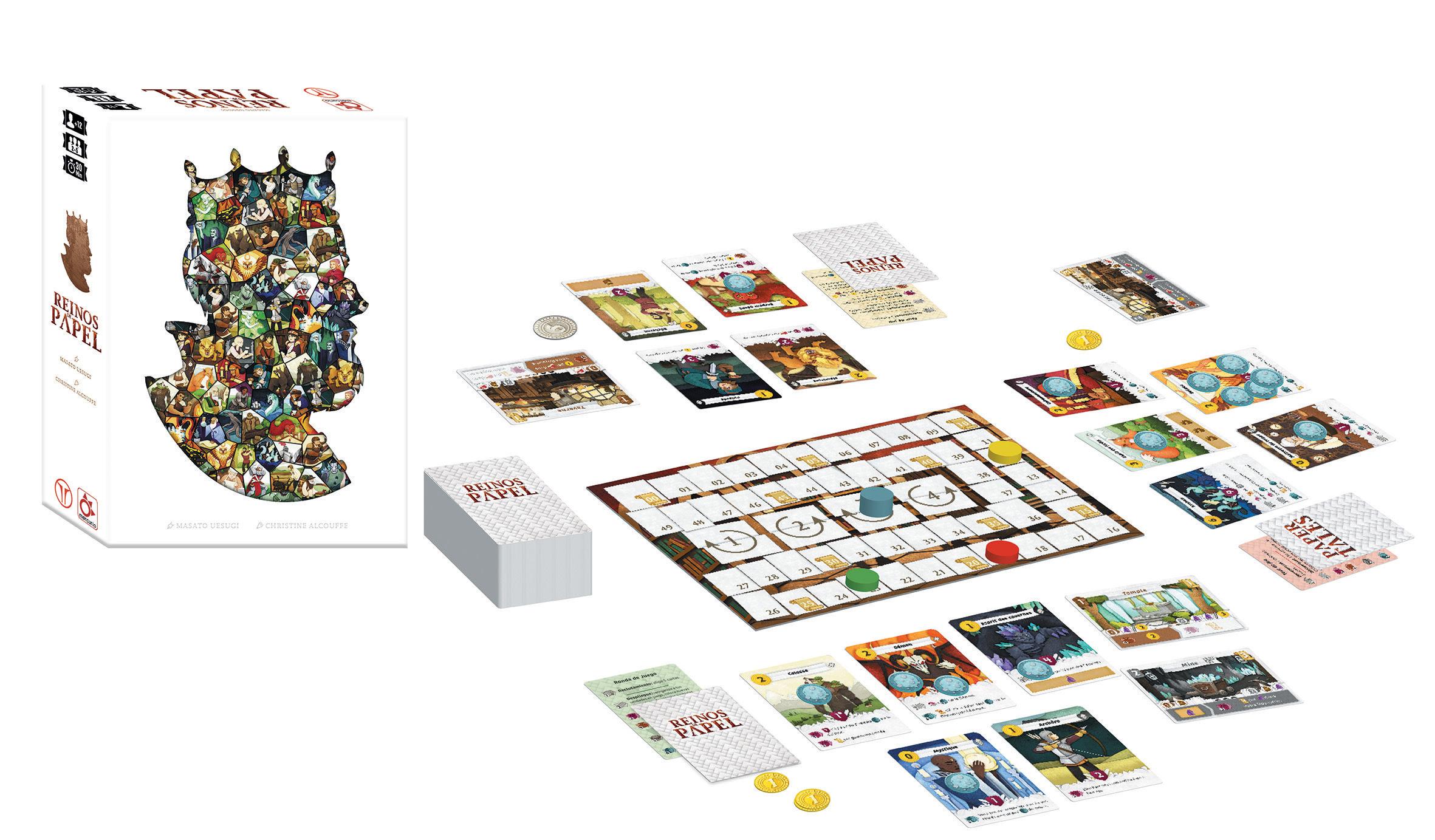reinos de papel juego de mesa