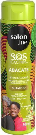 Shampoo S.O.S Cachos Abacate Ritual de Cuidados