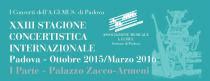AGIMUS - XXIII Stagione Concertistica Internazionale 2015-2016