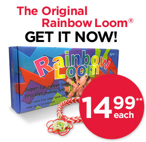 The Original Rainbow Loom® GET IT NOW! 14.99 each**