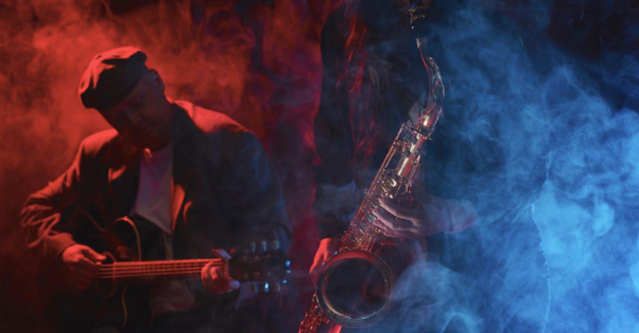 Jazz saxophonist and guitarist