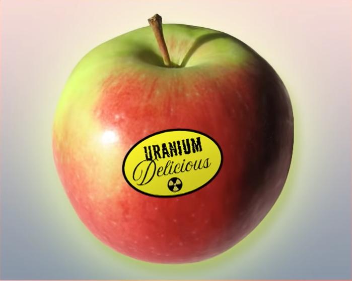 uranium apple