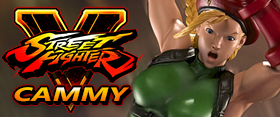 STREET FIGHTER 1/4 SCALE CAMMY STATUE