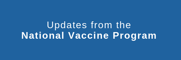 National Vaccine Program Updates