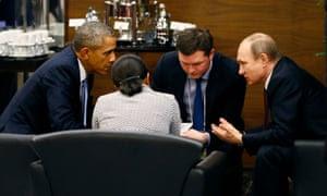 G20: Barack Obama y Vladimir Putin acuerdan transición dirigido por Siria.