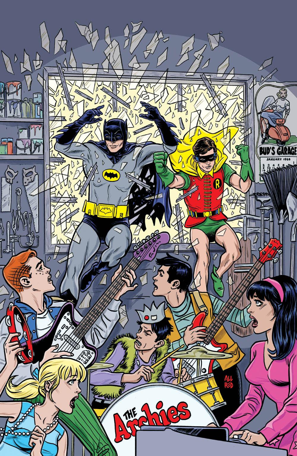 Archie Meets Batman '66: CVR A Allred