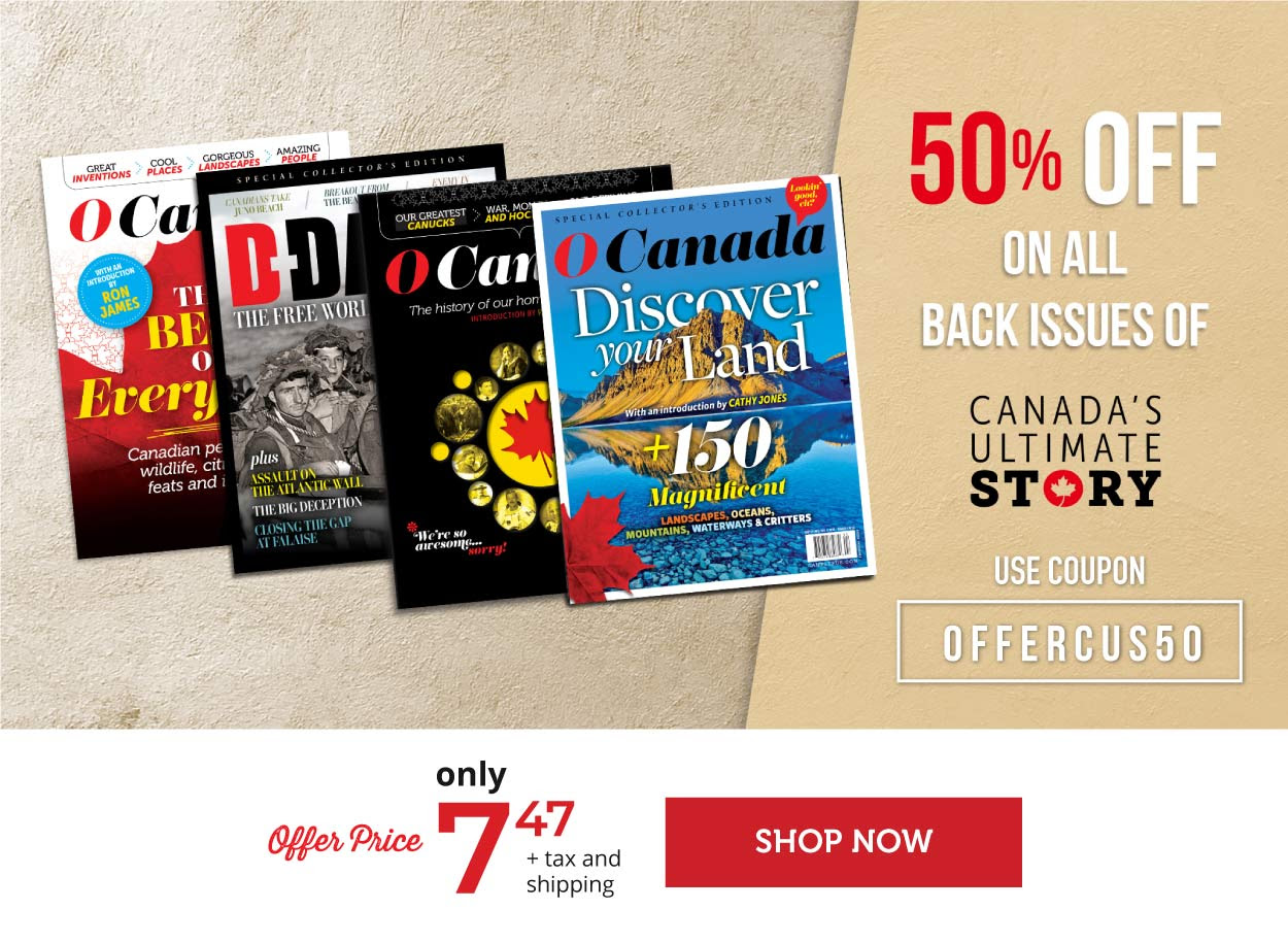 Canada's Ultimate Story - 50% off