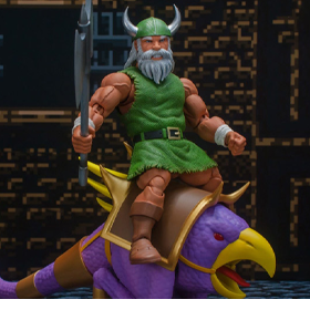 Golden Axe Gilius Thunderhead & Chickenleg 1/12 Scale Figure Set