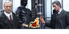 HOT TOYS BATMAN ARMORY WITH BRUCE WAYNE AND ALFRED
