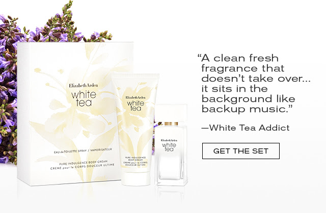 """""""A clean fresh fragrance  that doesn't take over...  it sits in the background like  backup music.""""  -White Tea Addict  GET THE SET"""