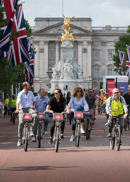 TfL Press Release - London's award-winning cycle hire scheme celebrates eighth birthday with best ever month of hires