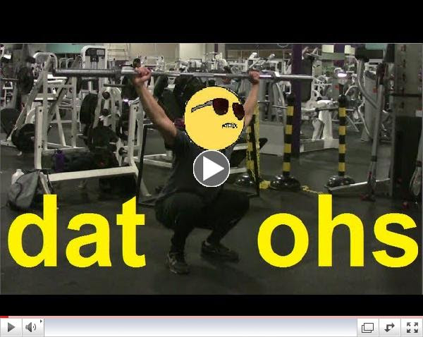 The Overhead Squat of Peace Tutorial