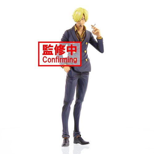 Image of One Piece Sanji Manga Dimensions Grandista Statue - NOVEMBER 2020