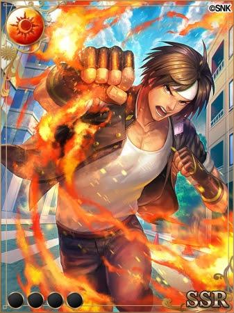 SSR【猛き炎の伝承者】草薙京