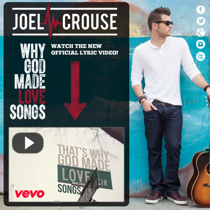 Joel Crouse Why God Made Love Songs