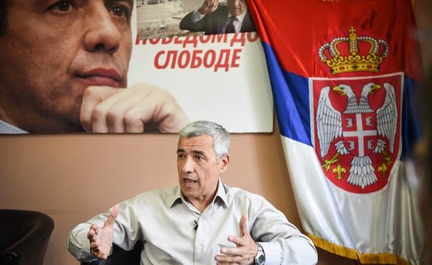 Oliver Ivanović was one of the key politicians in Serb-dominated northern Kosovo. Photograph: Armend Nimani/AFP/Getty Images