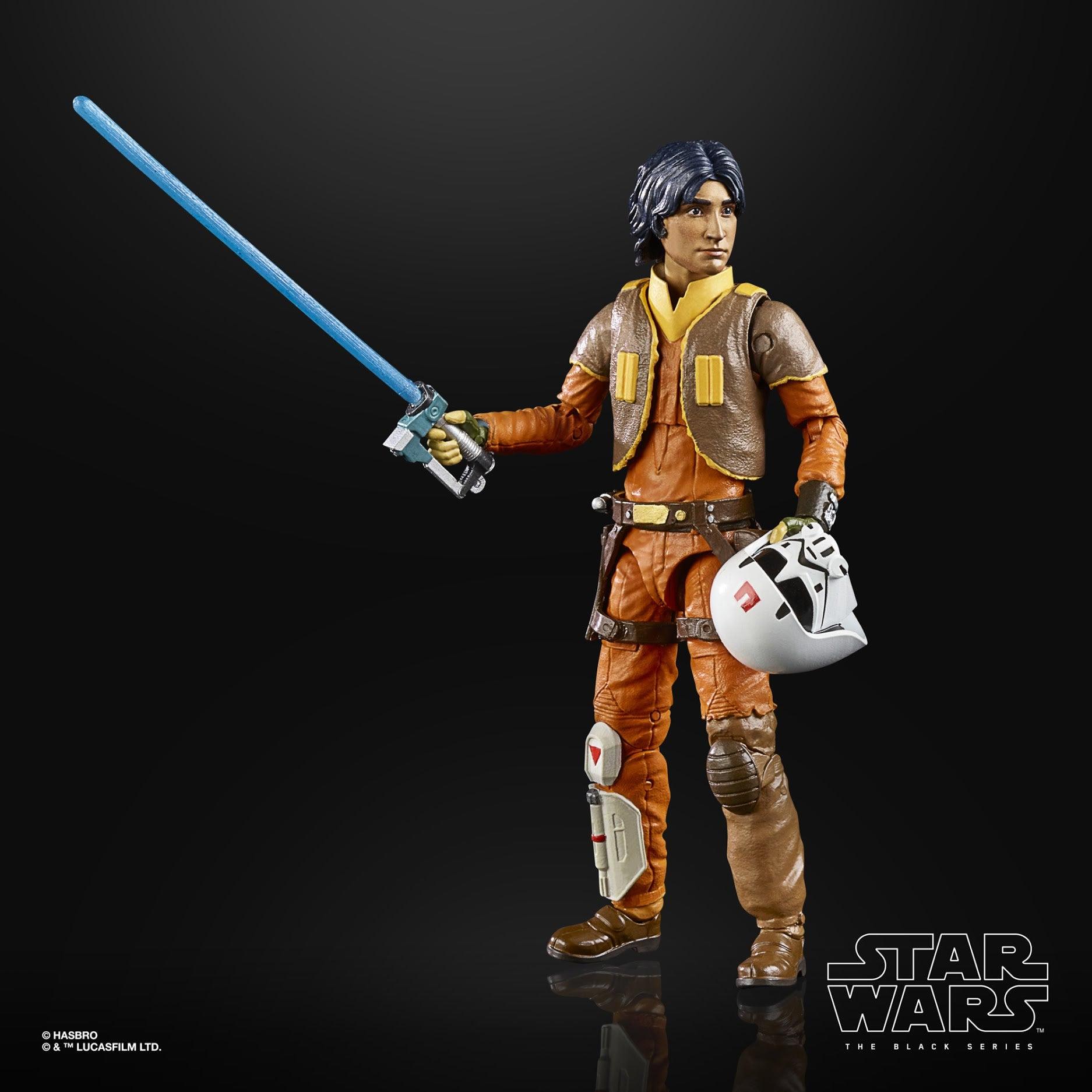 Image of Star Wars The Black Series Rebels Ezra Bridger 6-Inch Action Figure - SEPTEMBER 2020