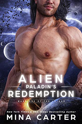 Cover for 'Alien Paladin's Redemption (Warriors of the Lathar Book 13)'