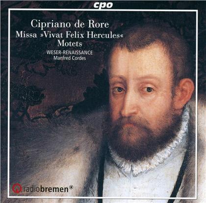 """Cipriano de Rore (1516-1565), Manfred Cordes & Weser-Renaissance - Missa """"Vivat Felix Hercules"""""""