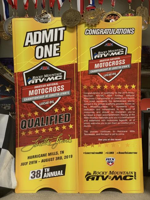 Who will get their ticket to the 2019 Rocky Mountain ATV/MC AMA Amateur National Motocross Championship?