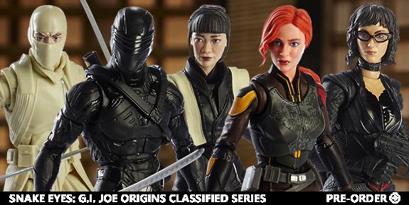 Snake Eyes: G.I. Joe Origins Classified Series