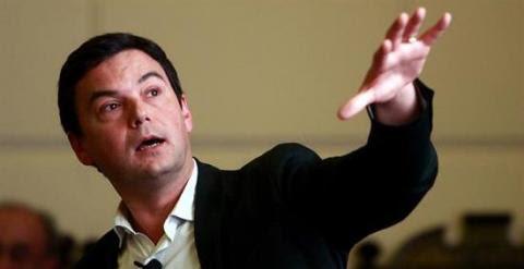 Piketty, en una visita reciente que hizo a Chile. EFE