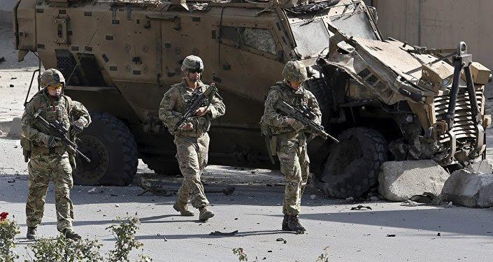 Militares de la OTAN en Kabul, Afganistán