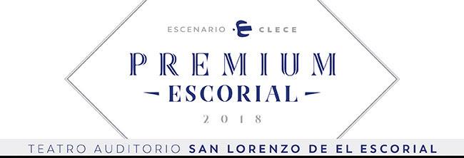 Escenario Clece. Premium Escorial 2018. Teatro Auditorio San Lorenzo de El Escorial.