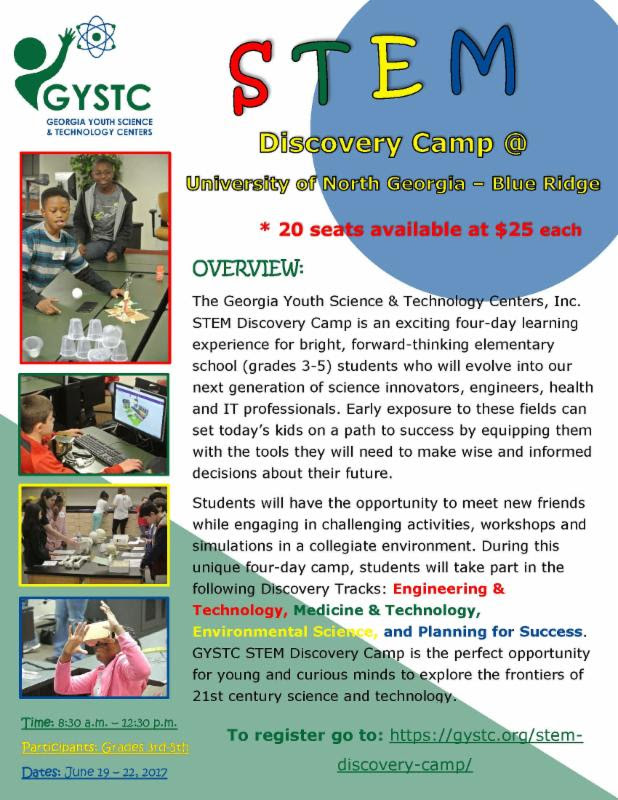 STEM camp available