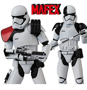 MAFEX FIRST ORDER STORMTROOPER FIGURES