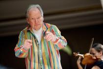 OPV e Sir Neville Marriner. Concerto straordinario 50° anniversario nascita dell'orchestra