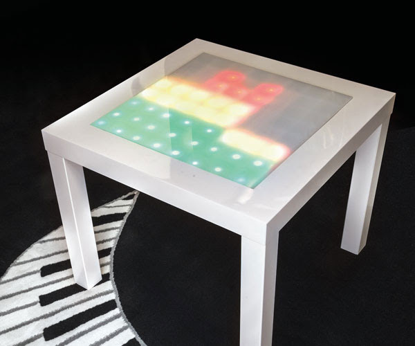 Music Visualizer Table