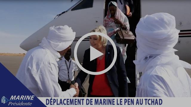 Marine Le Pen en déplacement au Tchad |Marine2017