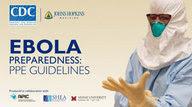 Image of Ebola PPE guideline training