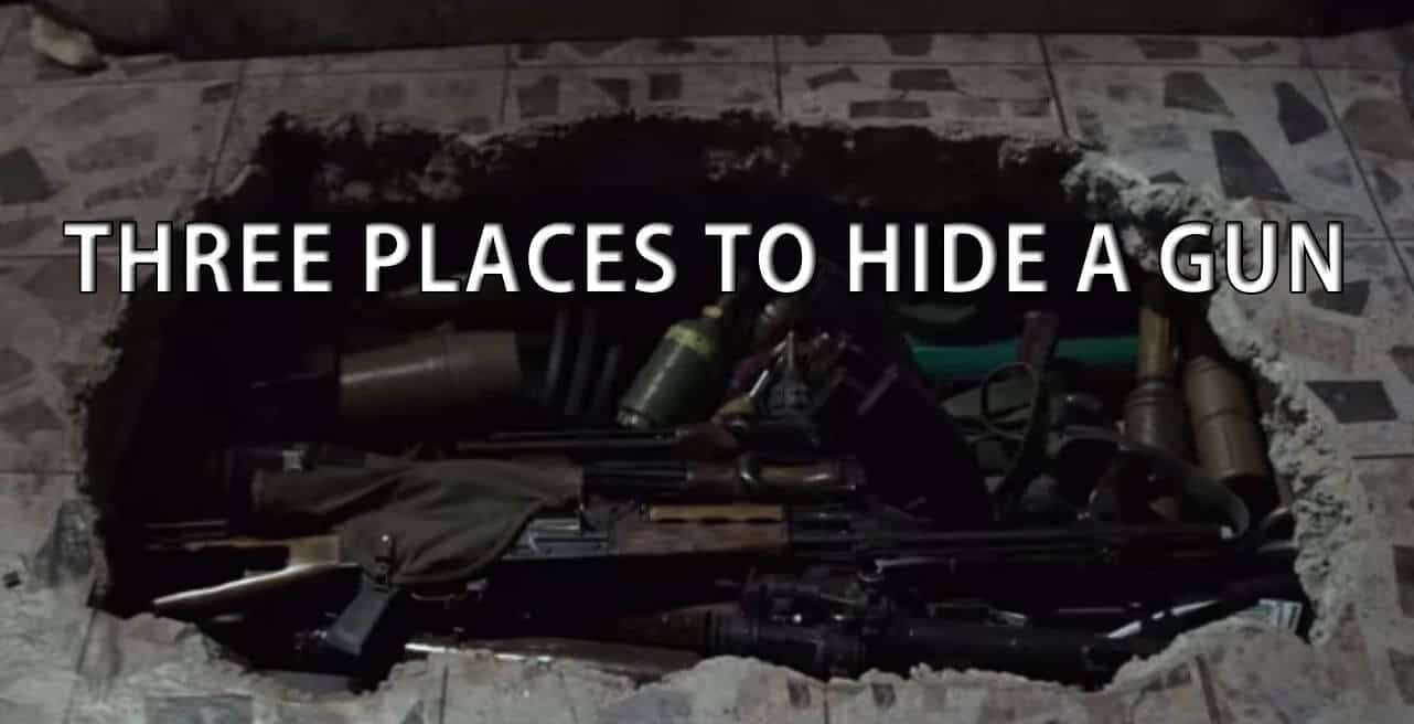 Three Places to Hide a Gun