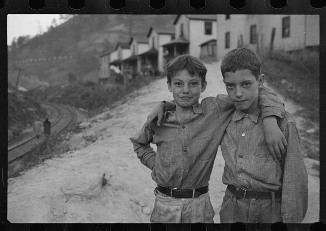 [Untitled photo, possibly related to: Coal miner's child, Omar, West Virginia]