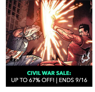 Civil War Sale: up to 67% off! Sale ends 9/16.