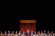 Donald J. Trump addressed the Economic Club of New York at the Waldorf Astoria on Thursday.